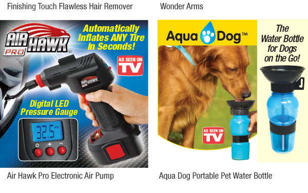 Must See TV Products! Plus, Shipping deal on $45+